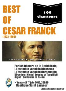 affiche best of cesar franck juin 2016