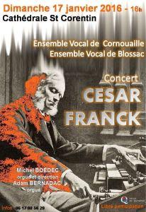 Concert César Franck janv 2016 Quimper bis